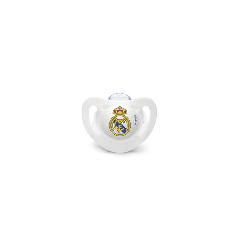 CHUPETE SILICONA NUK REAL MADRID 0-6