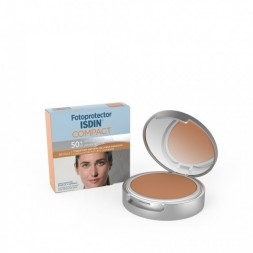 FOTOPROTECTOR ISDIN COMPACT SPF-50+ MAQUILLAJE COMPACTO OIL-