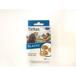 TIRITAS PLASTIC APOSITO ADHESIVO REDONDAS 22 MM 20 U