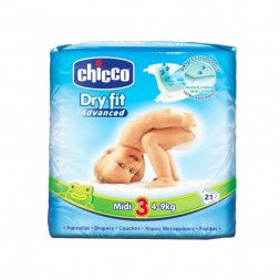 PAÑAL DRY FIT 4-9 KG CHICCO