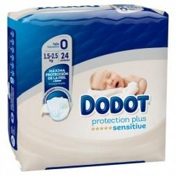 PAÑAL INFANTIL DODOT PROTECTION PLUS SENSITIVE T- 0 PREMATUR