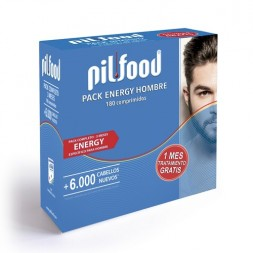 PACK PILFOOD ENERGY HOMBRE 180 COMP