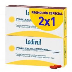 LADIVAL PACK CAPS SOLARES ANTIOXIDANTE 30+30