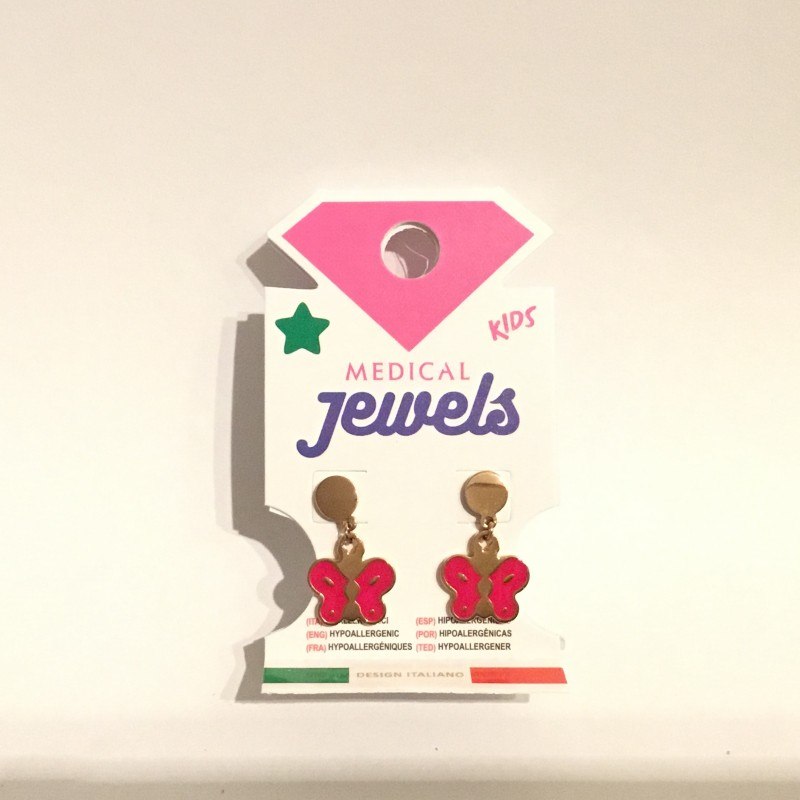 JEWELS PENDIENTE KIDS MARIPOSA