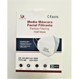 CAJA 30 MASCARILLAS BLANCAS FFP2 MODELO DSY-9501