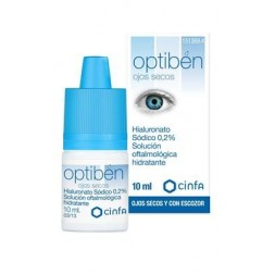 OPTIBEN OJOS SECOS GOTAS SEQUEDAD OCULAR 10 ML