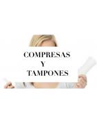 COMPRESAS Y TAMPONES